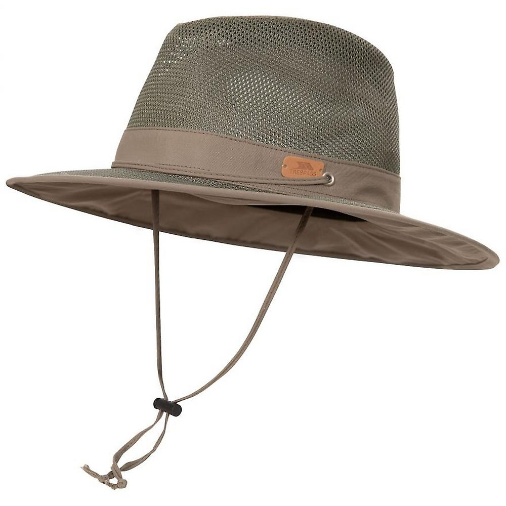 Classified Panama Hat unisex Trespass khaki