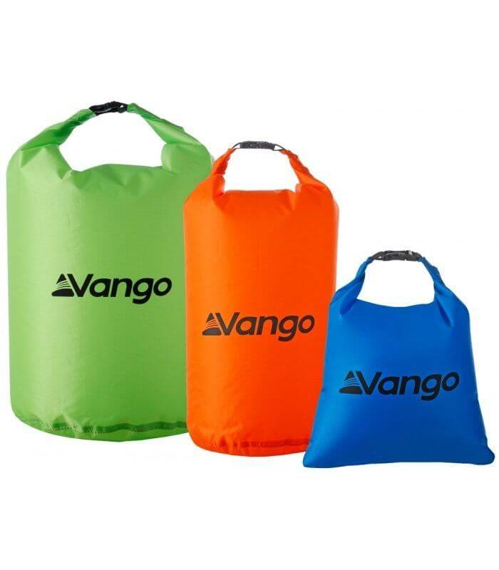 Image of   Dry Bag Set vandtætte poser Vango 3-pak