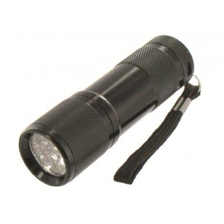 Cobra Ultra 9 LED Lygte SORT