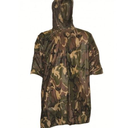 Camouflage Poncho Highlander unisex vandtæt slidstærk
