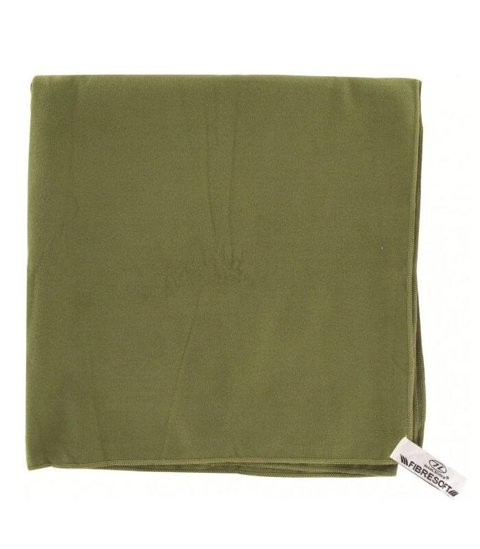Micro Håndklæde Oliven Grøn L