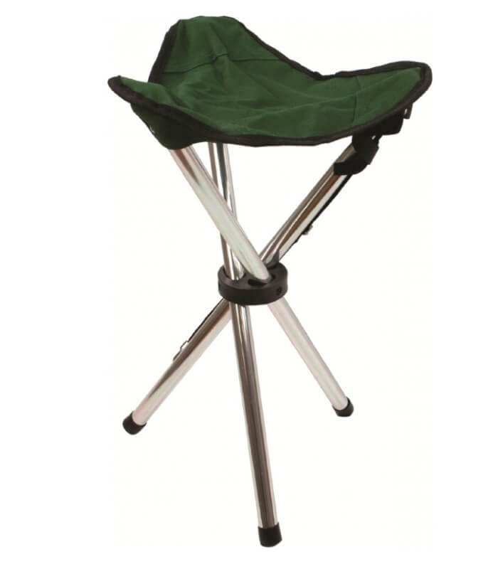Aluminium Tripod Stool trebenet taburet Highlander letvægt