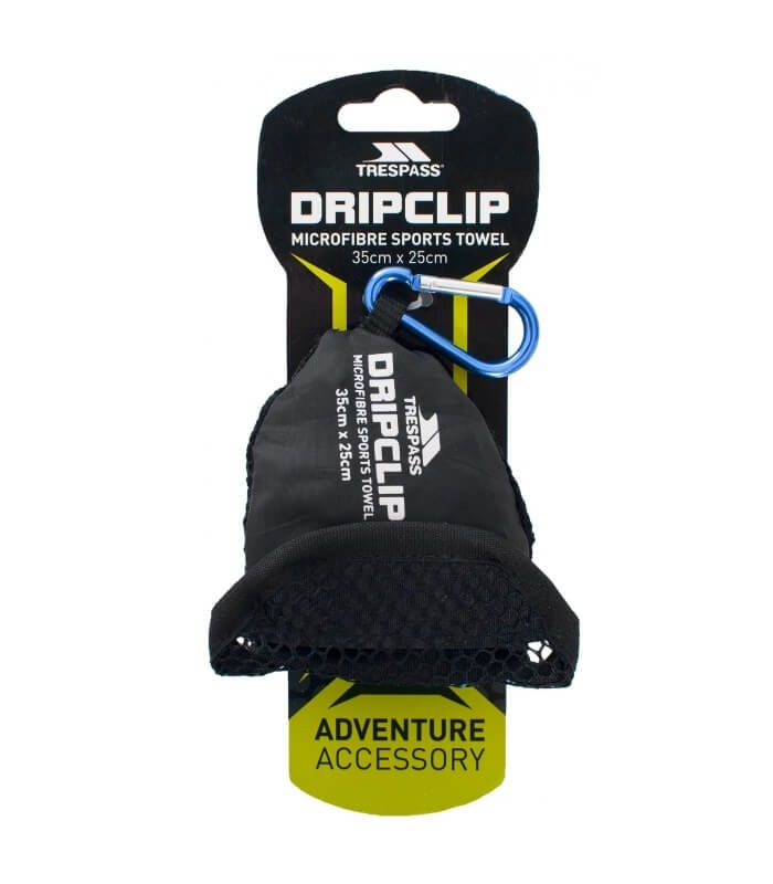 DRIPCLIP Polyester Mikrofiber Håndklæde Trespass