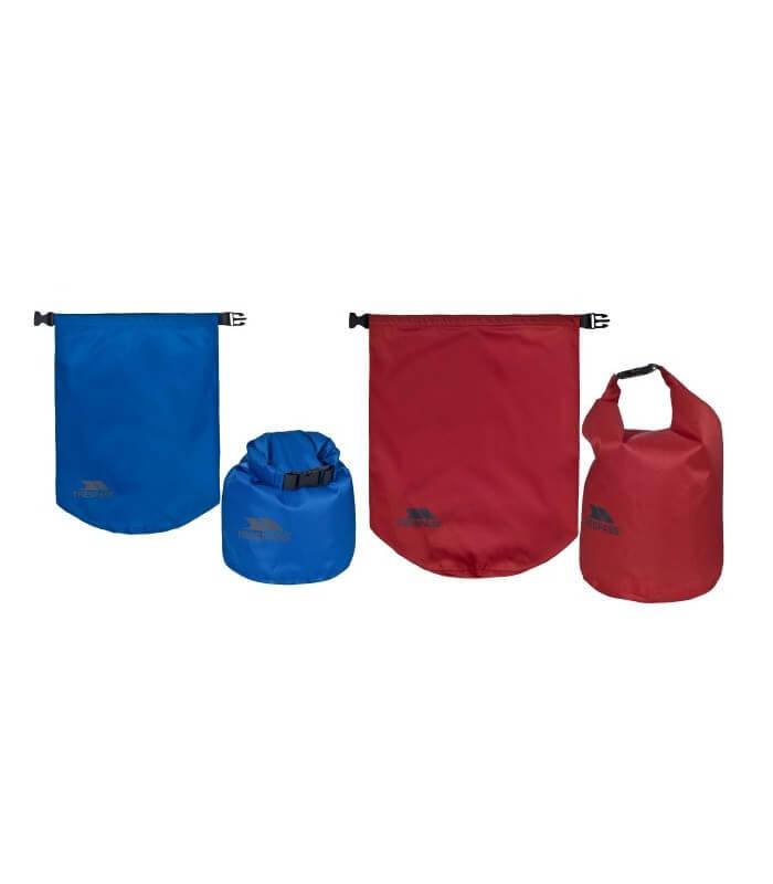 Drybag 10 & 15 Liter Dobbelt Pakke Trespass Tørposer EUPHORIA