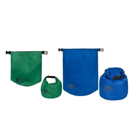 Drybag 5 & 10 Liter Dobbelt Pakke Trespass Tørposer EXHILARATION