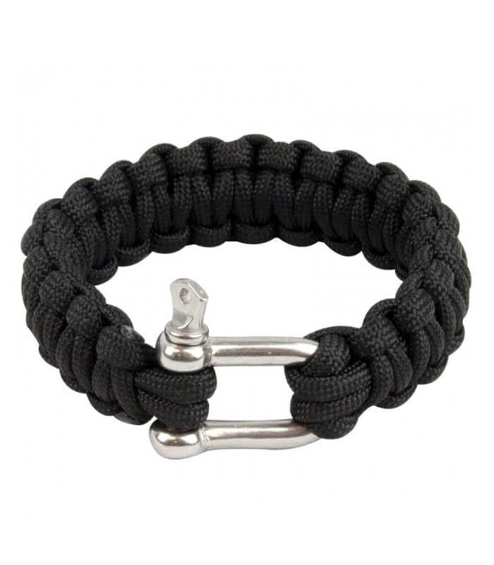 Image of   Paracord Armbånd D Ring