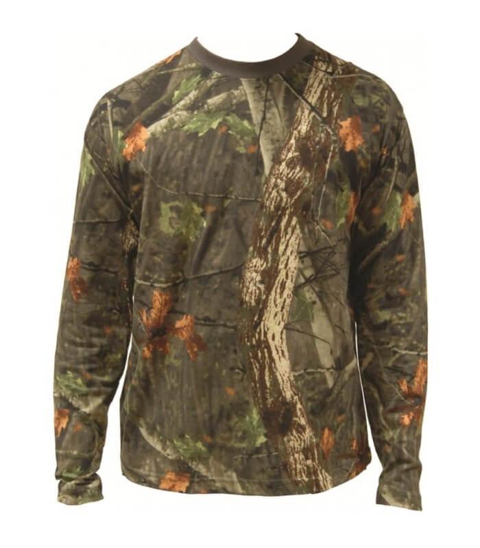Tree Deep Camouflage T-Shirt Highlander langærmet jagt