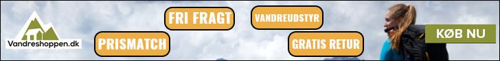 Se alt udstyr hos Vandreshoppen.dk