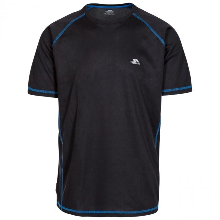 ALBERT kortærmet T-shirt i sort fra Trespass
