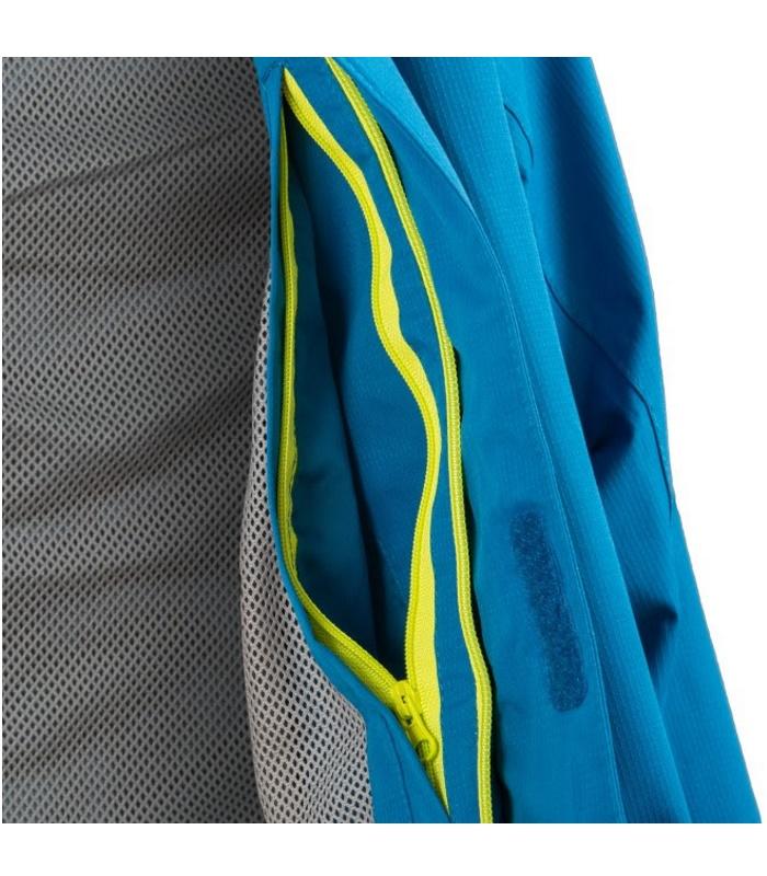 564991e8 ... hals Arran jakke Highlander unisex vandtæt og åndbar, inderlomme  vandsøjletryk regntøj