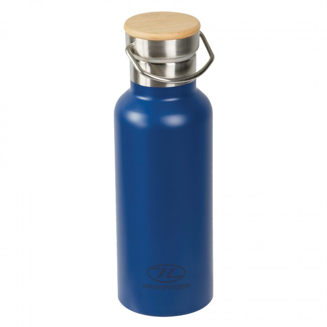 Image of   CAMPSITE Stainless Steel 0,5 liter Termo vandflaske