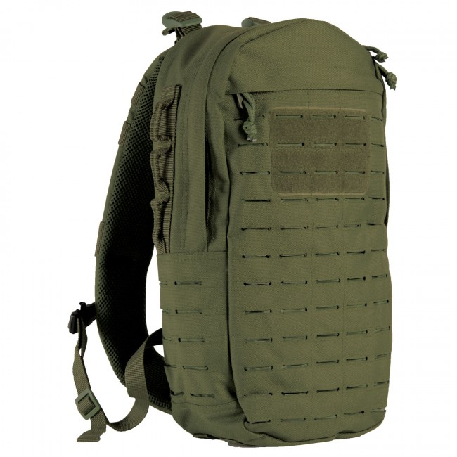 Image of   Cobra Single Strap 15 liter rygsæk grøn Highlander