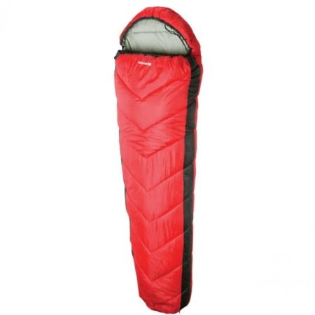 Doze 3 sæsoner vandafvisende sovepose rød