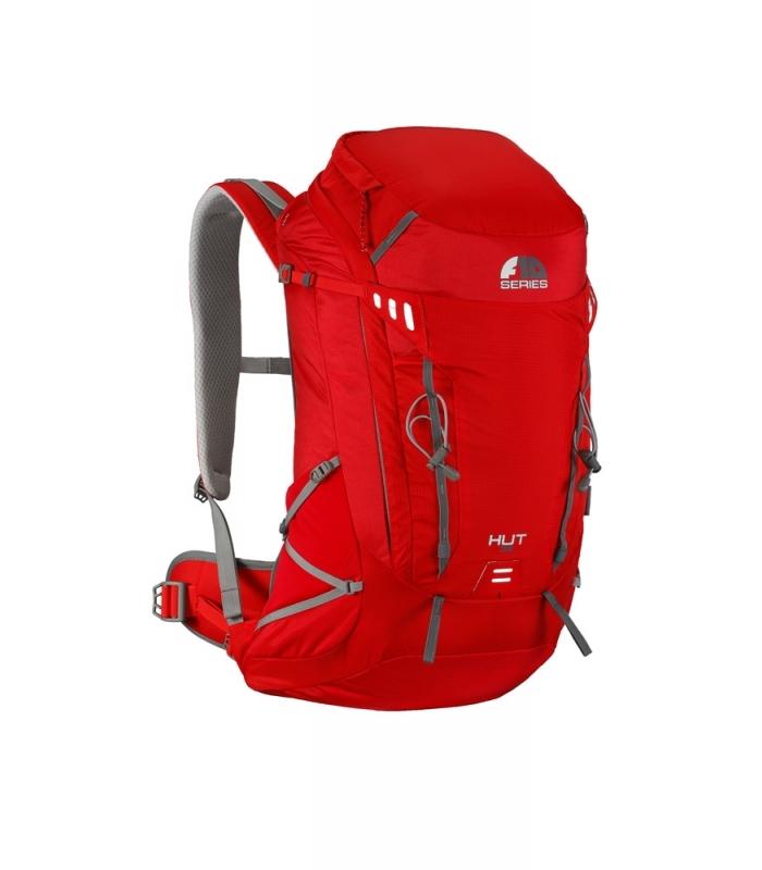 F10 HUT 35 liter rygsæk rød