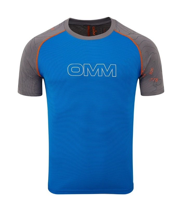 FLOW T-shirt kortærmet Mand OMM forfra