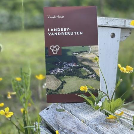 Vandrekort: Kong Rans togt / Landsby Vandreruten