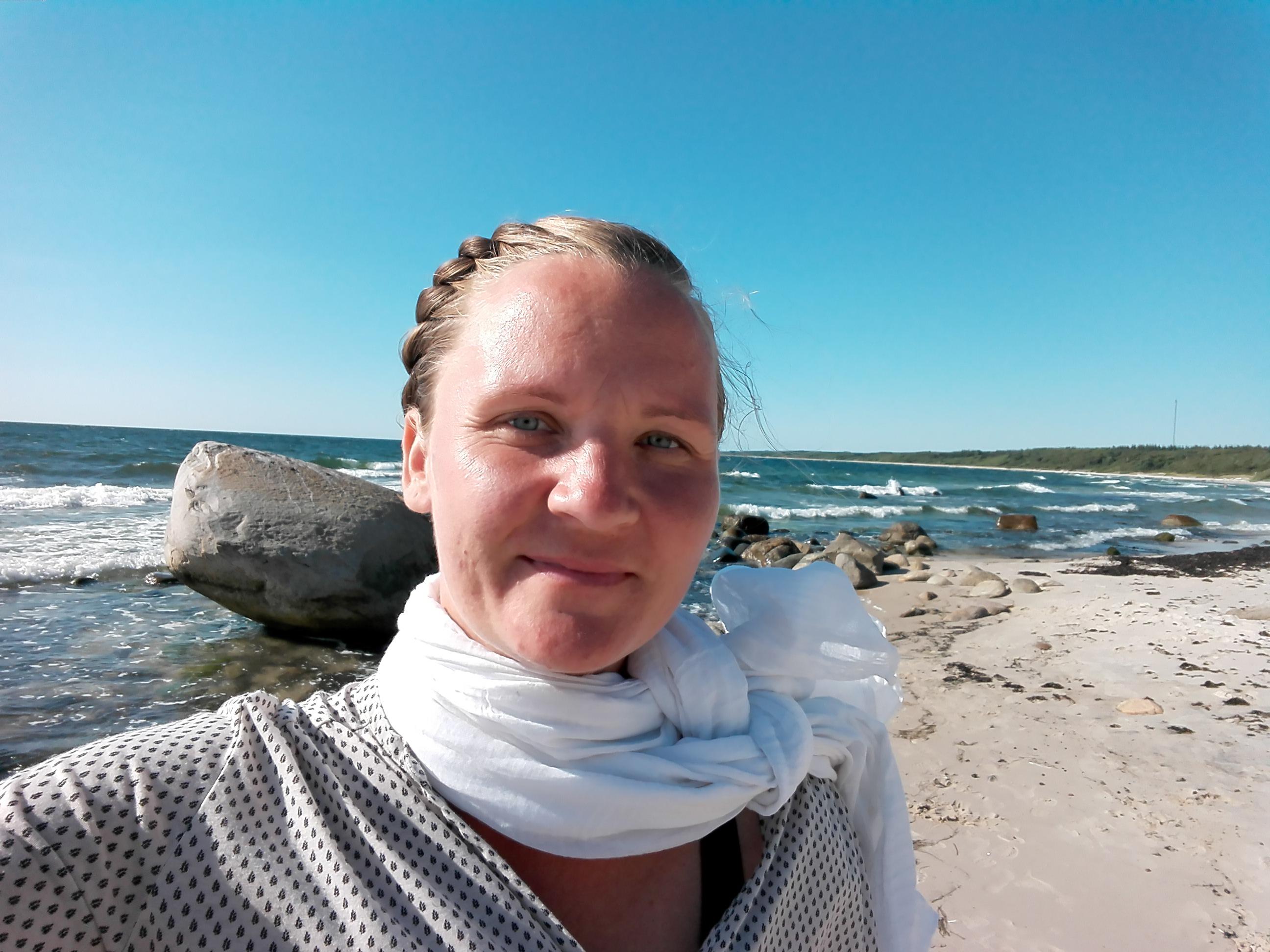 Bornholm rundt - Mor og søn på tur
