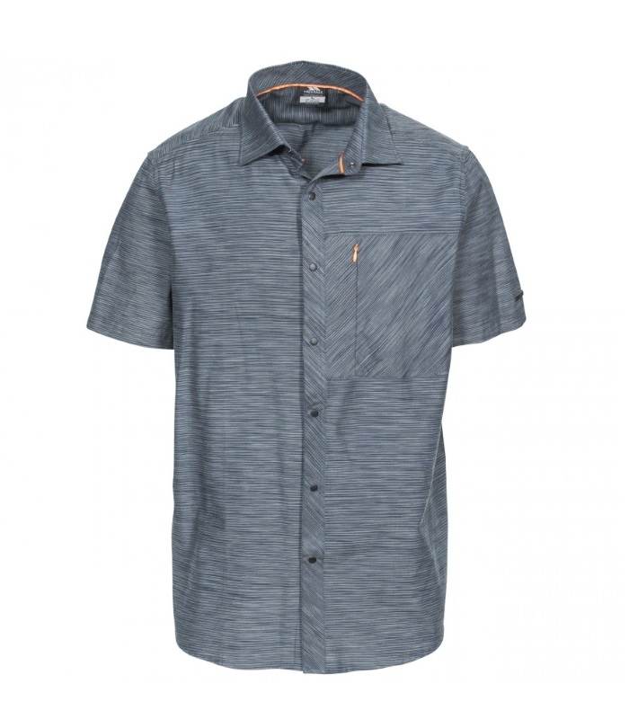 Matadi herre skjorte kortærmet grå