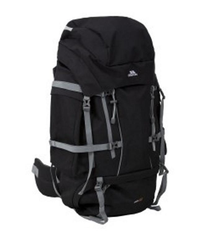 Trek 85 liter sort rygsæk