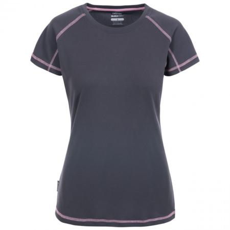 VIKTORIA Active kortærmet T-shirt i mørkegrå fra Trespass