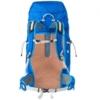 40 l rygsæk blå