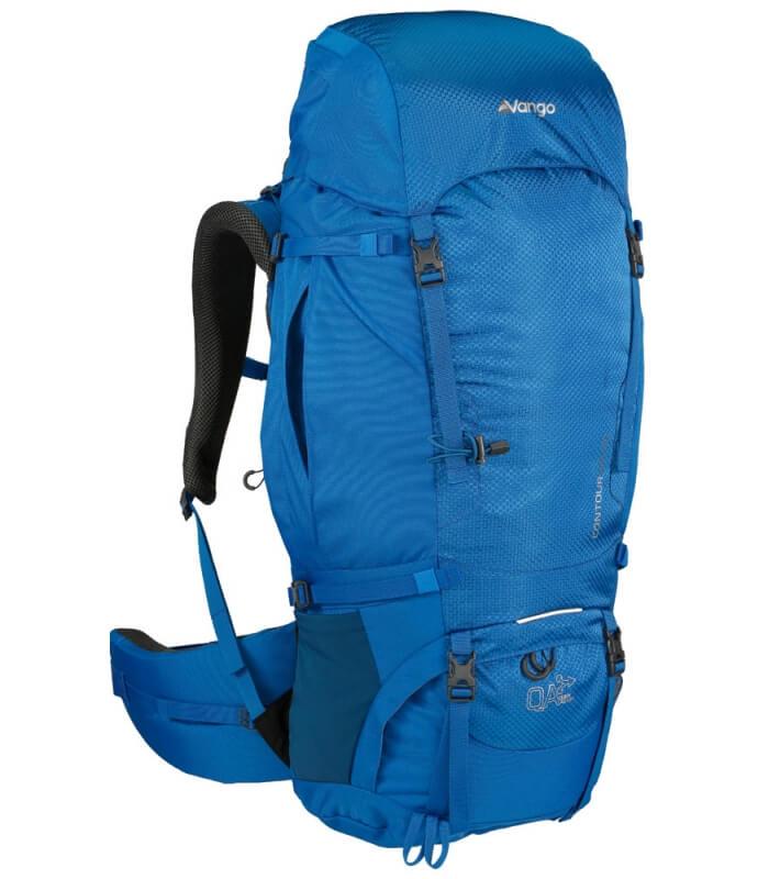 Contour 50+10S Backpacker rygsæk til kort ryg