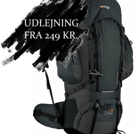 Lej en rygsæk: Sherpa 65 Liter rygsæk Vango