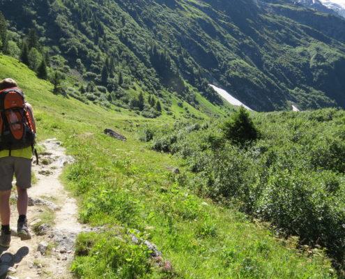 Mont-Blanc vandring i Frankrig som 61-årig