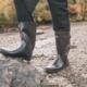 Recon X Trespass gummistøvler mænd grønne