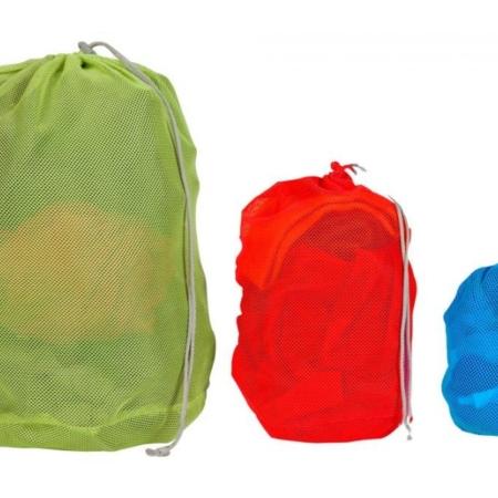 mesh-bag-set tøjposer