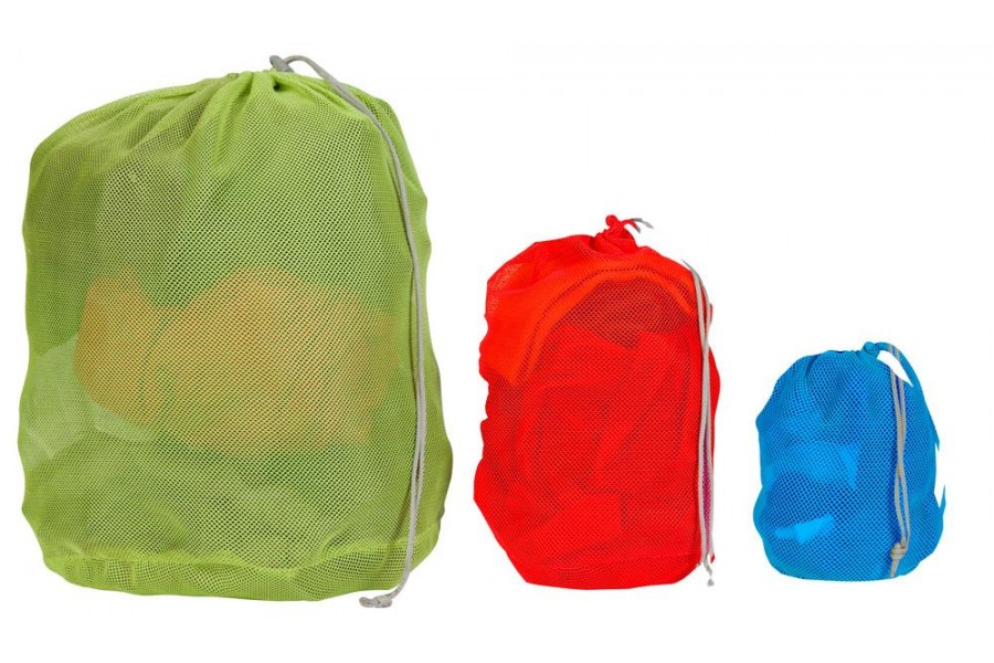 mesh-bag-set tøjposer