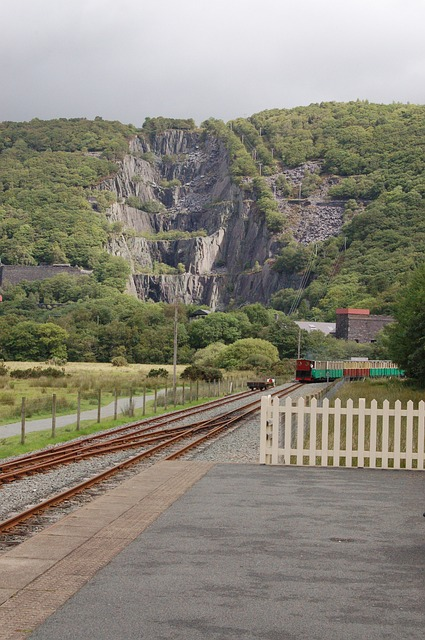 Togstation Wales