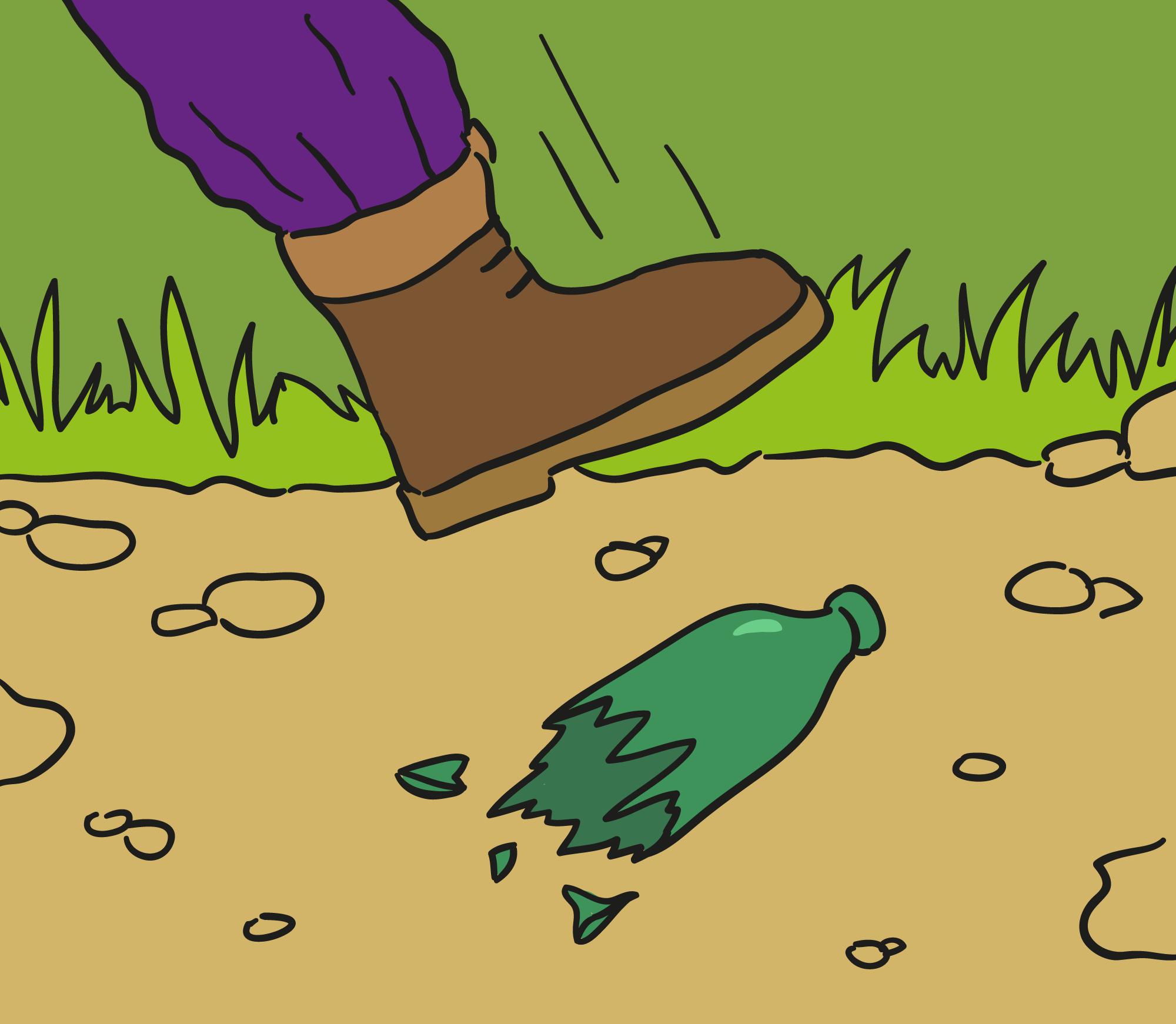 Pas på dine fødder